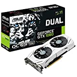 ASUS Dual-GTX1060-O6G Gaming Nvidia GeForce Grafikkarte...
