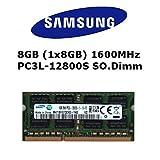 Samsung 8GB (1x 8GB) DDR3 1600MHz (PC3L 12800S) SO Dimm...