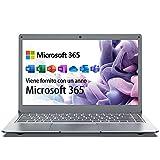 Jumper Laptop 13,3 Zoll (Microsoft Office 365, 4GB...