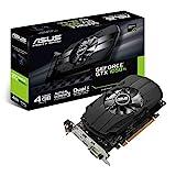 Asus PH-GTX1050TI-4G Nvidia GeForce Grafikkarte (PCIe...