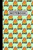 Notebook: Outdoor Fire Journal | Outdoor Fire Themed...