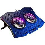 KLIM Halo + Laptop Kühler mit RGB Beleuchtung + 11' -...