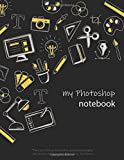 Notebook: Photoshop Elements, Lined, Soft Cover, Letter...