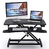 ABOX Sit-Stand Workstation, Höhenverstellbarer...