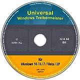 Universal Treiber-Meister für Windows 10 / 8 / 7 /...