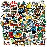 PRETTYSUNSHINE Sticker Set 50 Stück, Vintage Reise...